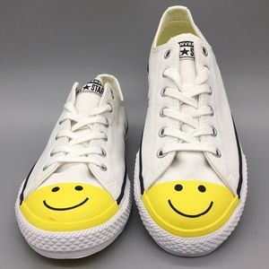 Converse CTAS OX white/fresh yellow/black boys